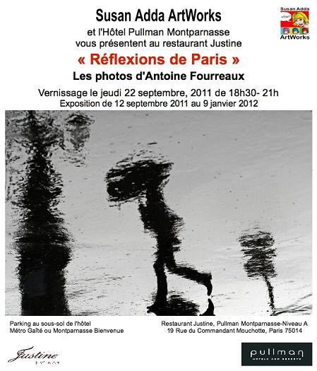 PHOTOGRAPHIE - Vernissage de FOURREAUX le jeudi 22 septembre 2011 à partir de 18h00.