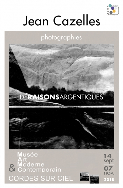 PHOTOGRAPHIE - Vernissage de JEAN le vendredi 14 septembre 2018 à partir de 18h30.