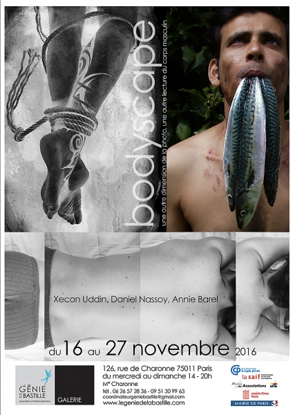 PHOTOGRAPHIE - Vernissage de DANIEL NASSOY PHOTO'GRAPHISTE D'ART le vendredi 18 novembre 2016 à partir de 18h00.